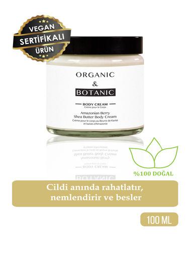 Organic ORGANIC BOTANIC BODY BUTTER SHEA B.AMAZ.ÜZÜM100ml Renksiz